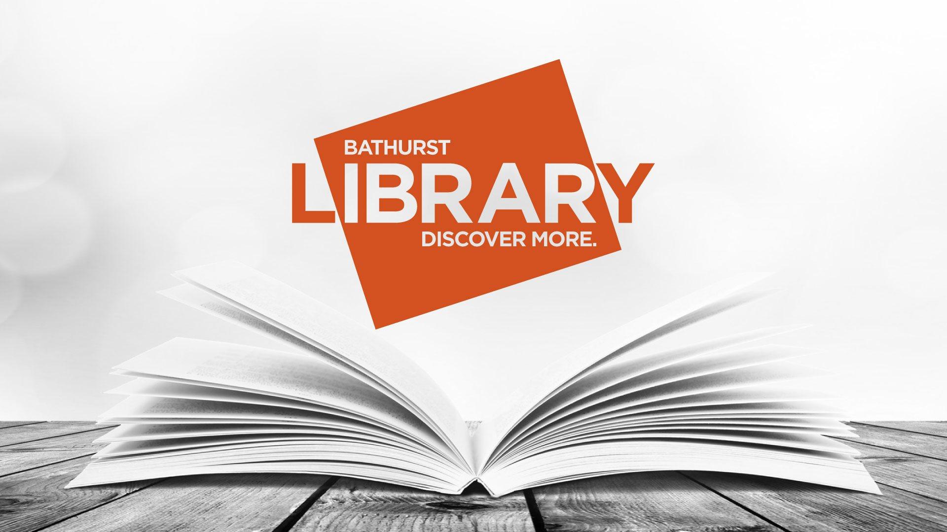 Portfolio - Bathurst Library Logo | StartleArt Graphic Design