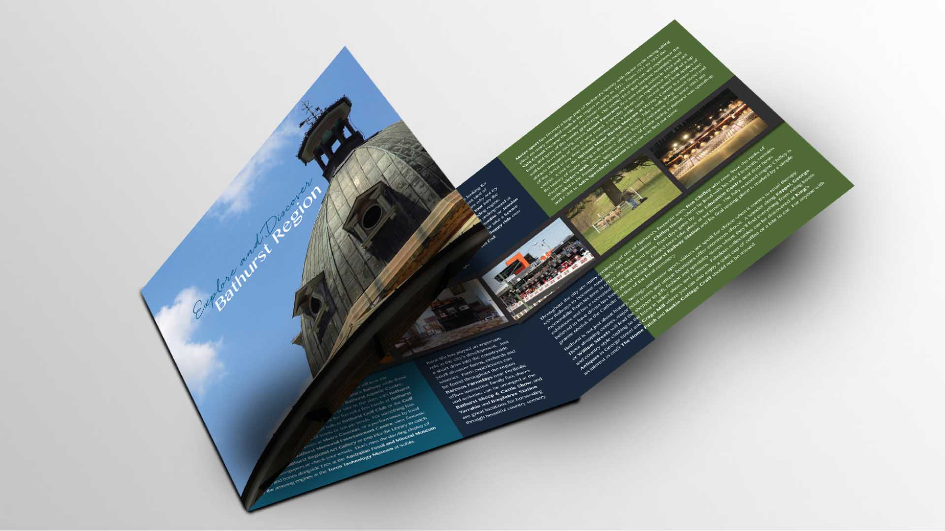 Portfolio - Bathurst Region Brochure | StartleArt Graphic Design